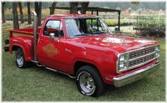Little red express truck